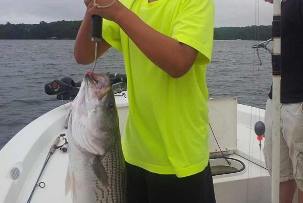lake-lanier-fishing-report-striper-july-2013
