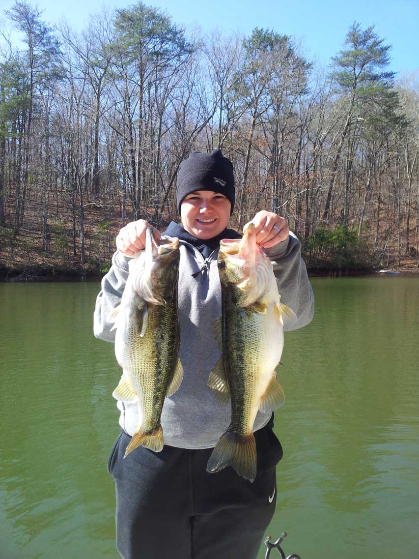 Lake Lanier Mid March Fishing Report