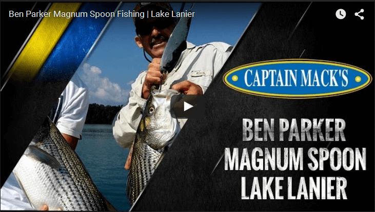 Ben Parker Magnum Spoon Fishing