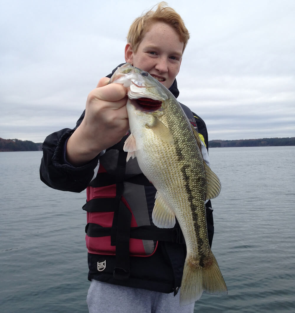 Lake lanier fishing report december 5 2015 captain mack 39 s for Lake lanier fishing