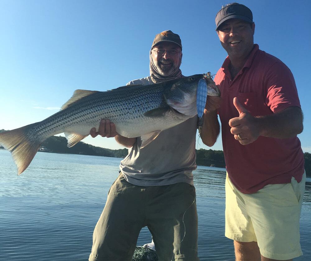 Lake lanier fishing report august 26 2016 captain mack 39 s for Lake lanier striper fishing report
