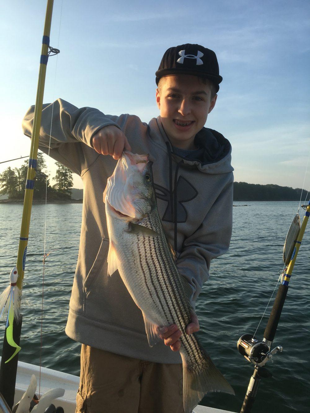 Lake lanier fishing report september 23 2016 captain mack 39 s for Fishing report lake lanier