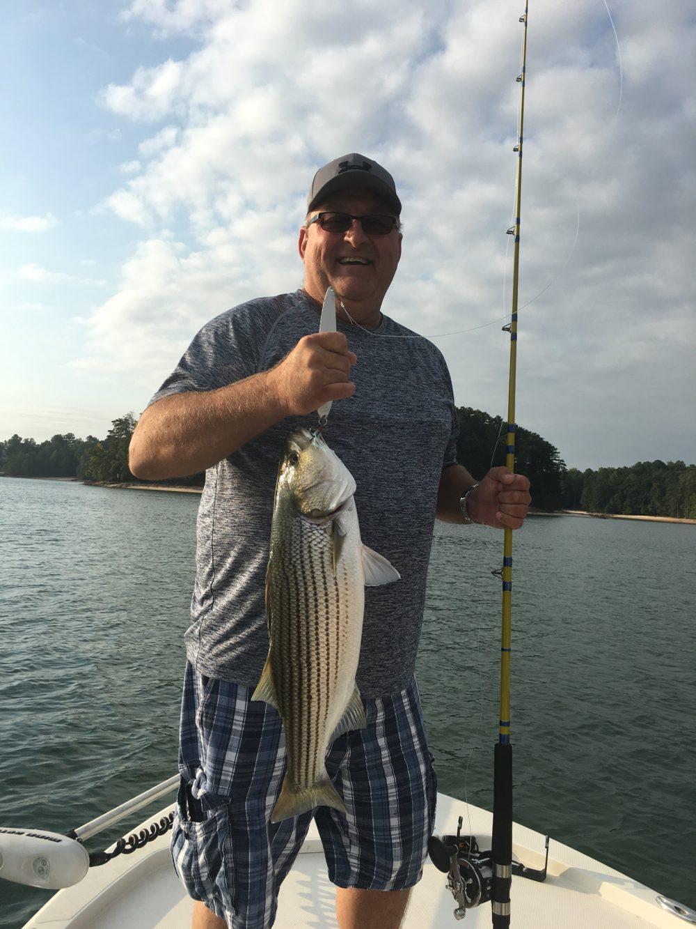 Lake lanier fishing report october 13 2016 captain mack 39 s for Fishing report lake lanier