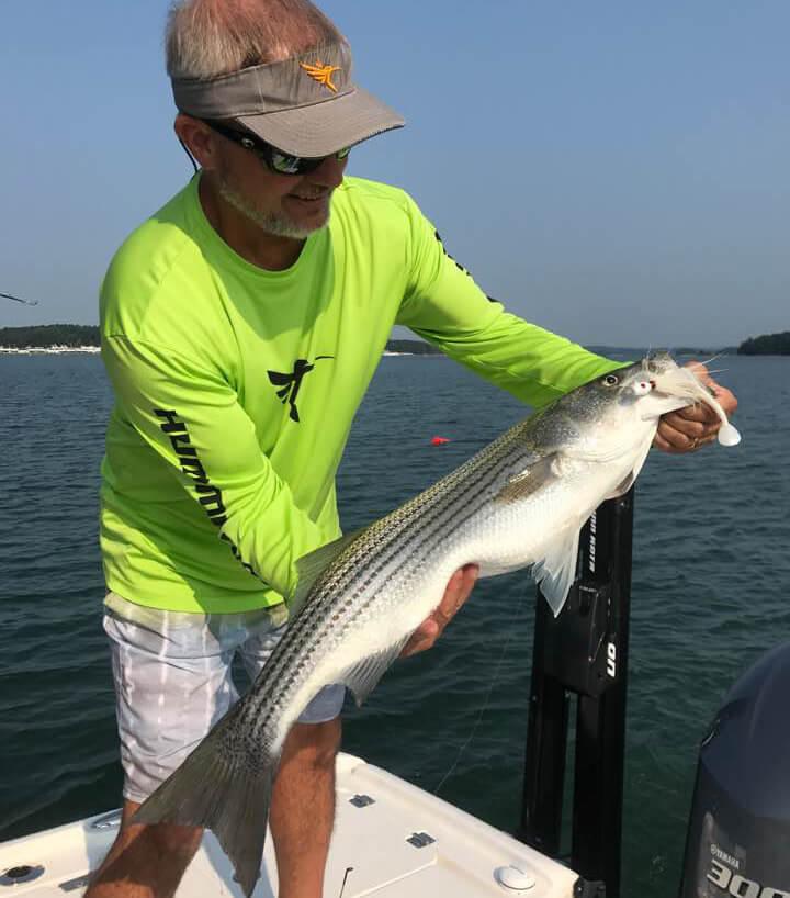 Lake lanier fishing report september 8 2017 captain mack 39 s for Lake lanier striper fishing report