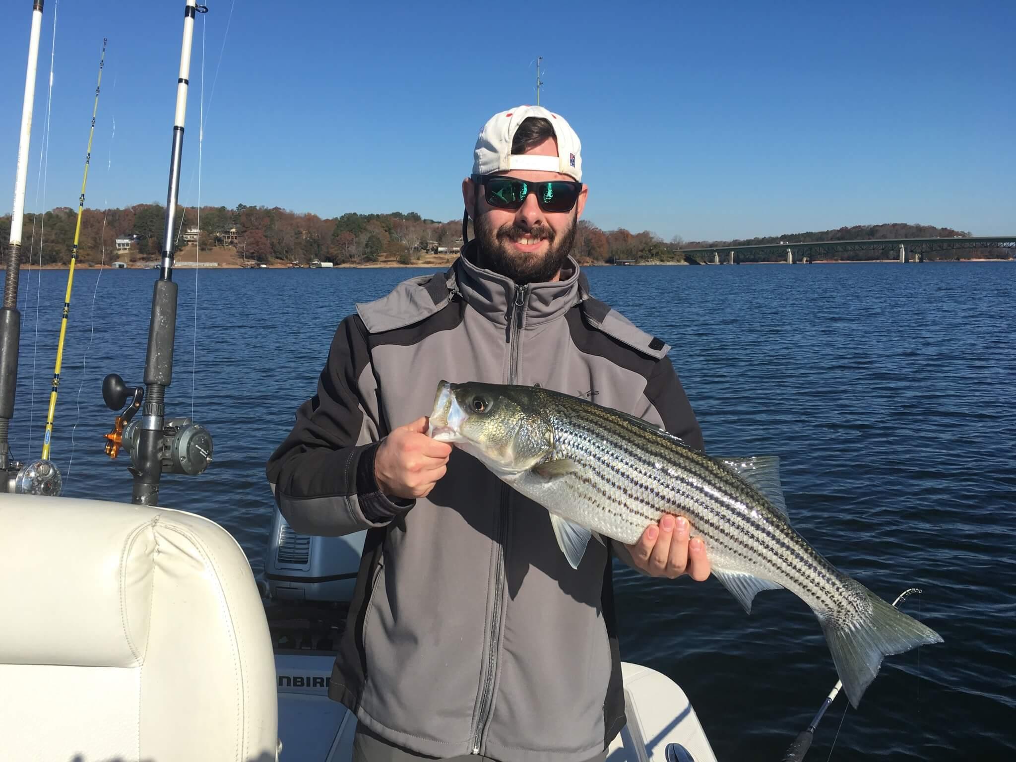 Lake lanier fishing report december 9 2017 captain mack 39 s for Fishing report lake lanier