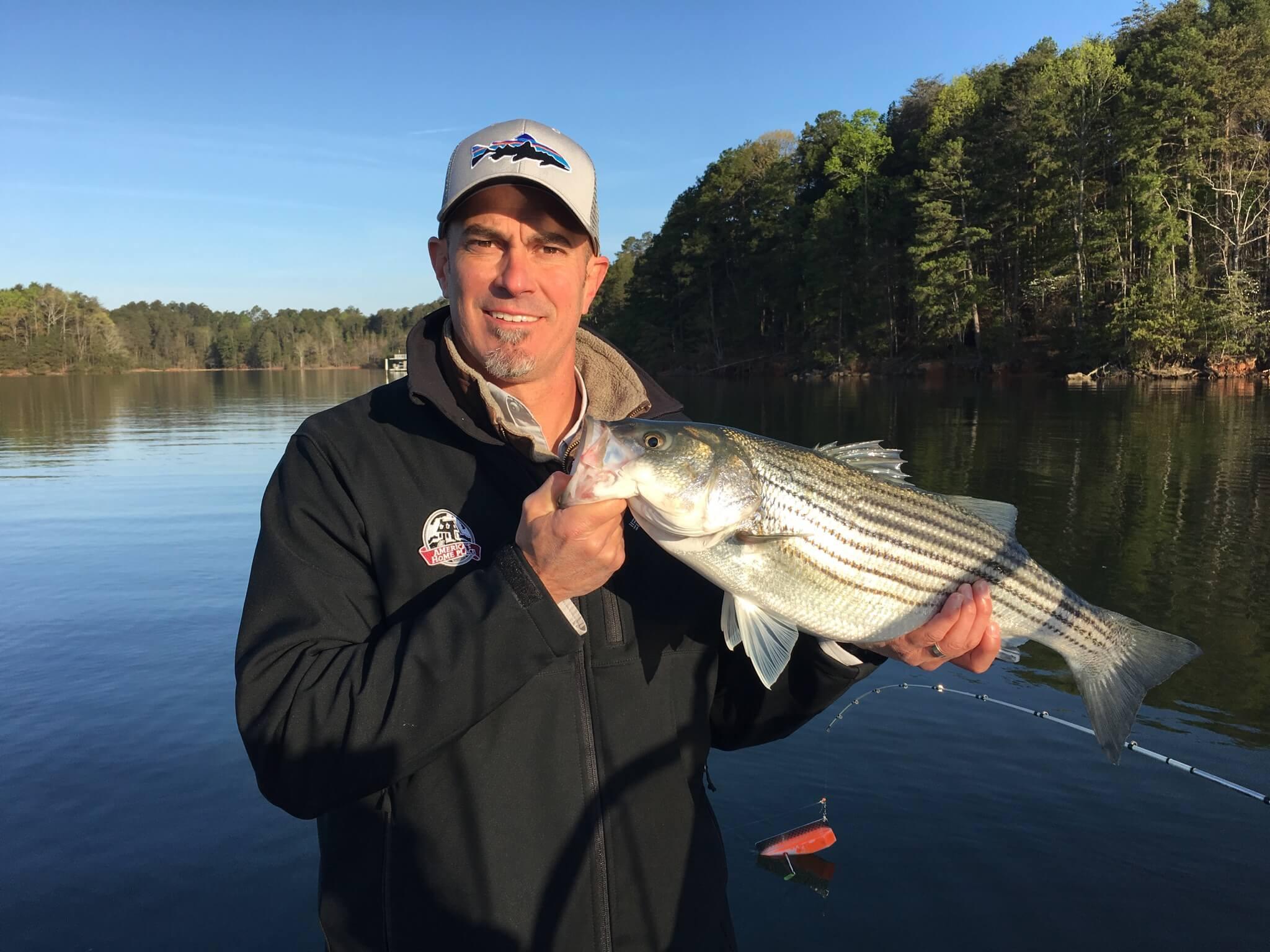 Lake lanier fishing report april 13 2018 captain mack 39 s for Fishing report lake lanier