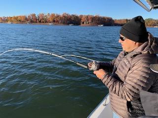Lake Hartwell Fishing Report January 10 2020