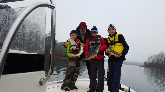 Lake Hartwell Fishing Report January 31 2020