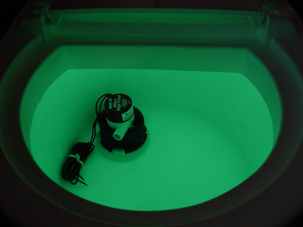 KeepAlive 14 Gallon Bait Tank with 500 Oxygen Infusor