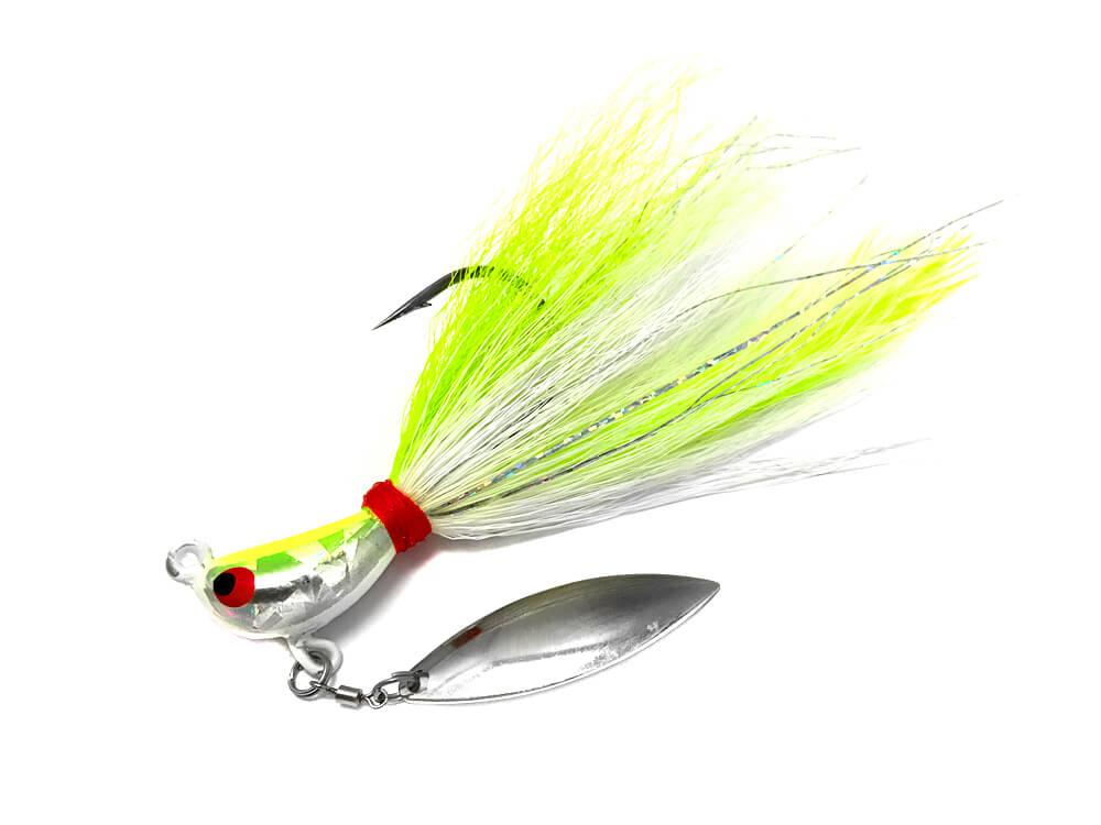 Super Spin Bucktail Jig